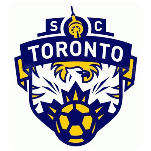 SC Toronto Iron-on Stickers (Heat Transfers)NO.8470