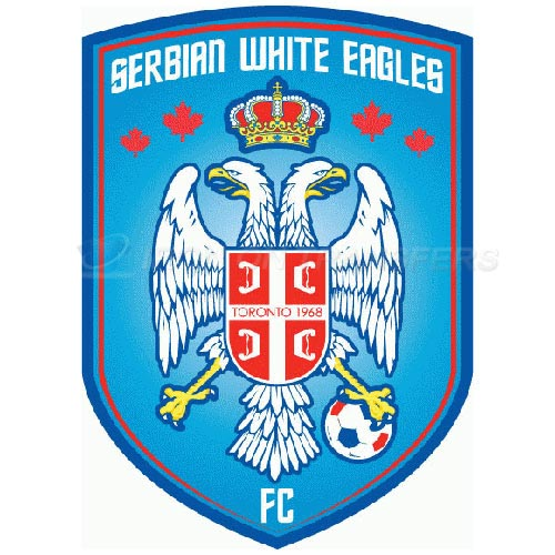 Serbian White Eagles FC Iron-on Stickers (Heat Transfers)NO.8474
