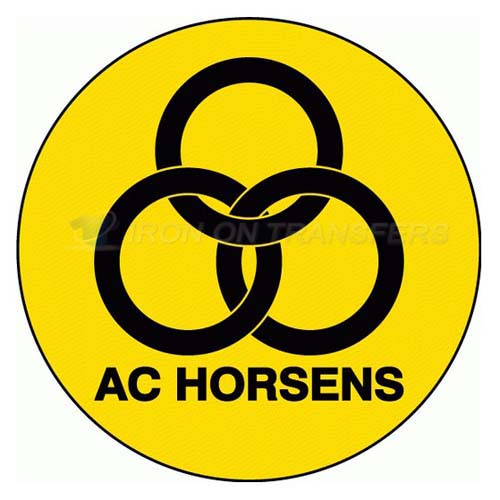AC Horsens Iron-on Stickers (Heat Transfers)NO.8225