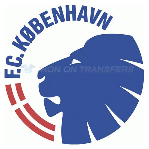 F.C. Copenhagen Iron-on Stickers (Heat Transfers)NO.8313