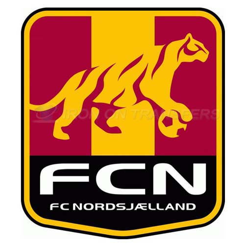 F.C. Nordsjaelland Iron-on Stickers (Heat Transfers)NO.8315