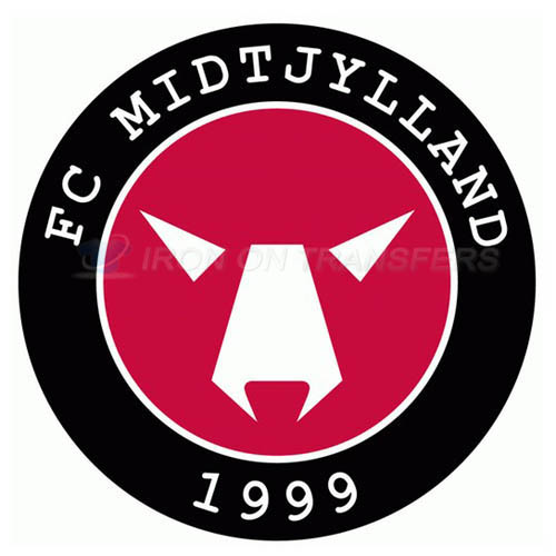 FC Midtjylland Iron-on Stickers (Heat Transfers)NO.8323