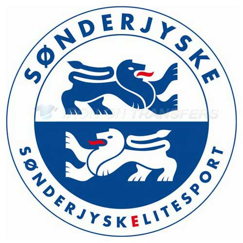 Sonderjysk Elitesport Iron-on Stickers (Heat Transfers)NO.8486