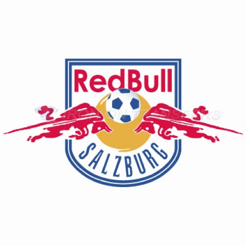 Red Bull Salzburg Iron-on Stickers (Heat Transfers)NO.8455