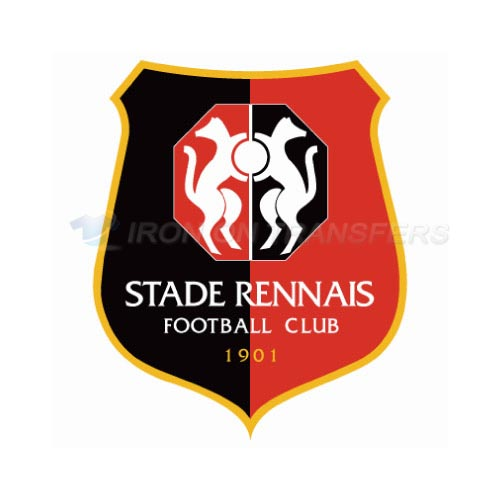 Stade Rennes Iron-on Stickers (Heat Transfers)NO.8497