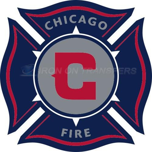 Chicago Fire Iron-on Stickers (Heat Transfers)NO.8284