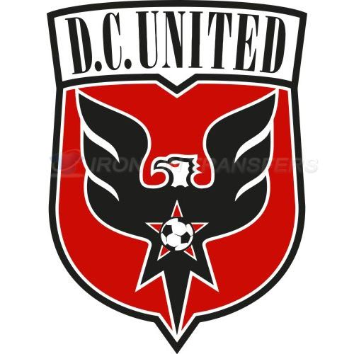 D.C. United Iron-on Stickers (Heat Transfers)NO.8297