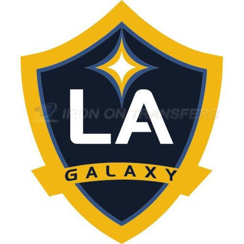 Los Angeles Galaxy Iron-on Stickers (Heat Transfers)NO.8382