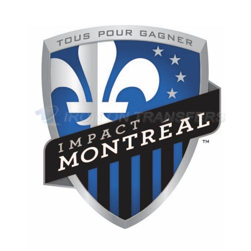 Montreal Impact Iron-on Stickers (Heat Transfers)NO.8400