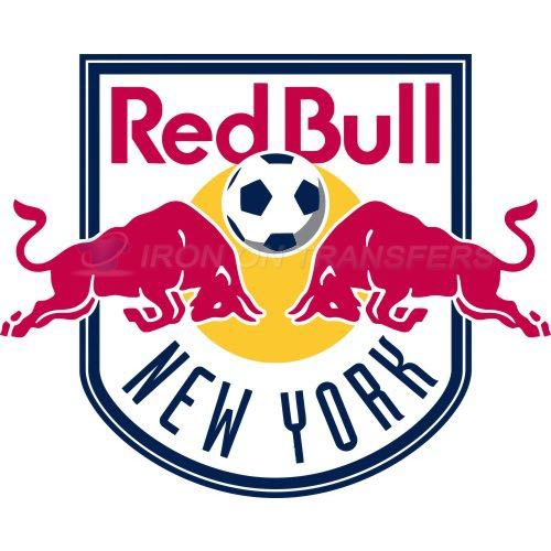 New York Red Bulls Iron-on Stickers (Heat Transfers)NO.8409