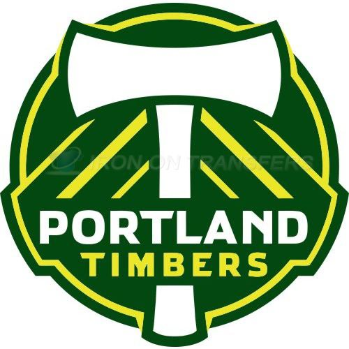 Portland Timbers Iron-on Stickers (Heat Transfers)NO.8435