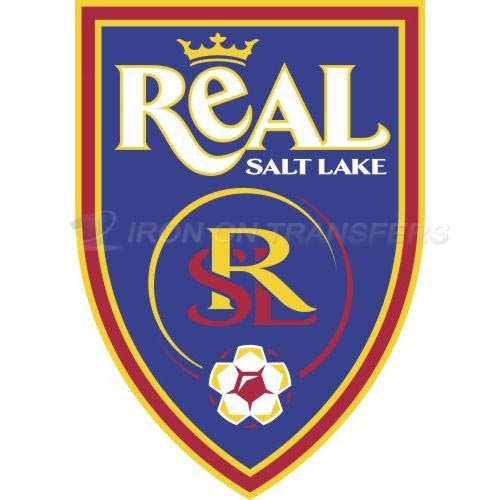 Real Salt Lake Iron-on Stickers (Heat Transfers)NO.8451