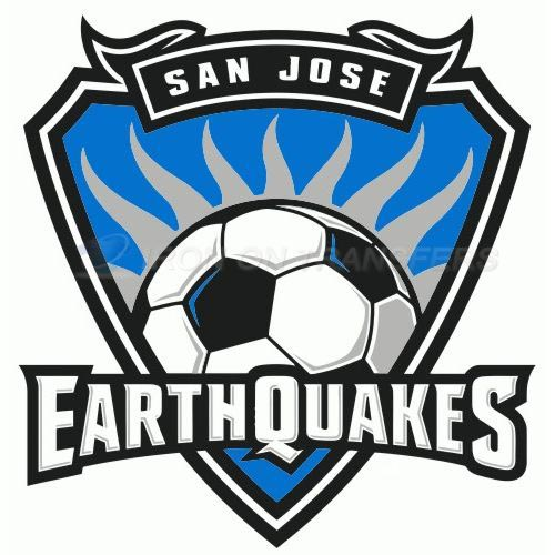 San Jose Earthquakes Iron-on Stickers (Heat Transfers)NO.8467
