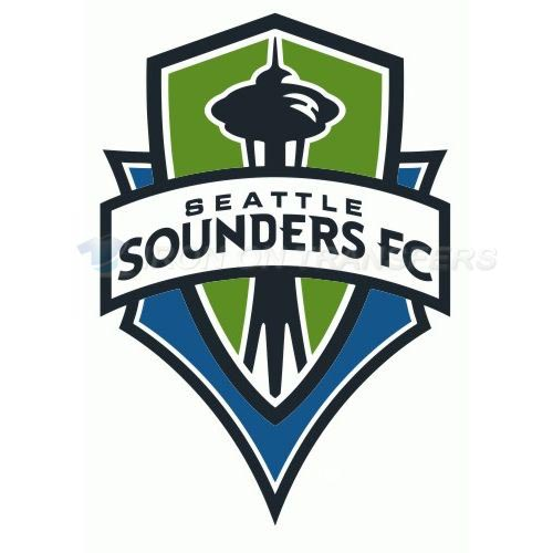 Seattle Sounders FC Iron-on Stickers (Heat Transfers)NO.8473