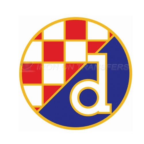 GNK Dinamo Zagreb Iron-on Stickers (Heat Transfers)NO.8342