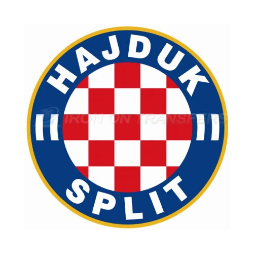 HNK Hajduk Split Iron-on Stickers (Heat Transfers)NO.8357