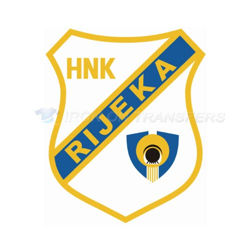 HNK Rijeka Iron-on Stickers (Heat Transfers)NO.8358