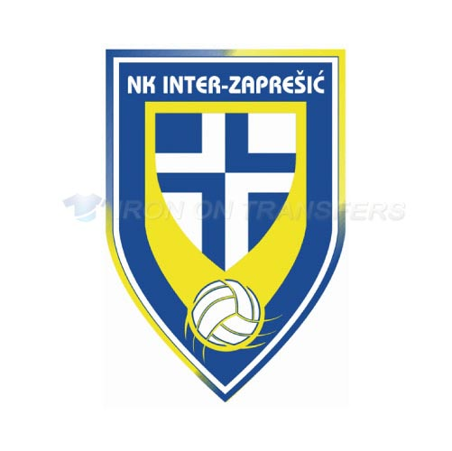 NK Inter Zapresic Iron-on Stickers (Heat Transfers)NO.8410