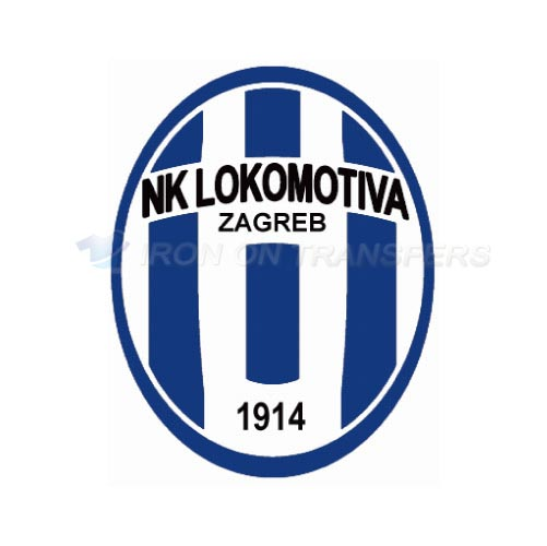 NK Lokomotiva Iron-on Stickers (Heat Transfers)NO.8412