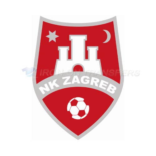 NK Zagreb Iron-on Stickers (Heat Transfers)NO.8416