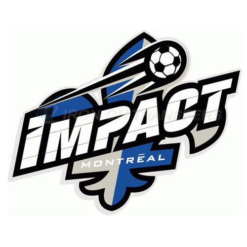 Montreal Impact Iron-on Stickers (Heat Transfers)NO.8401