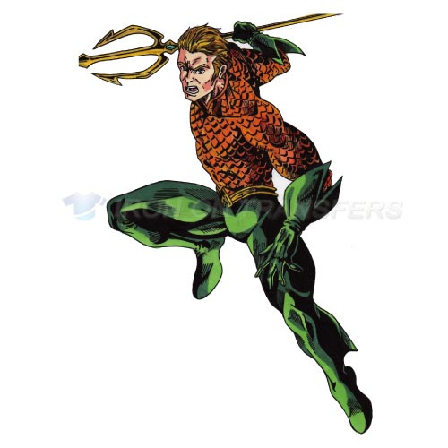 Aquaman Iron-on Stickers (Heat Transfers)NO.448