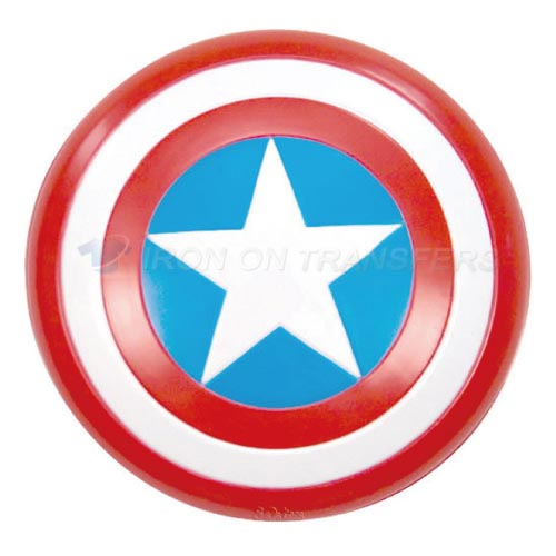 Captain America Iron-on Stickers (Heat Transfers)NO.60