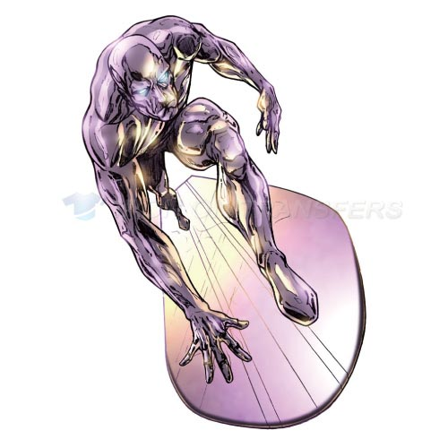 Silver Surfer Iron-on Stickers (Heat Transfers)NO.494