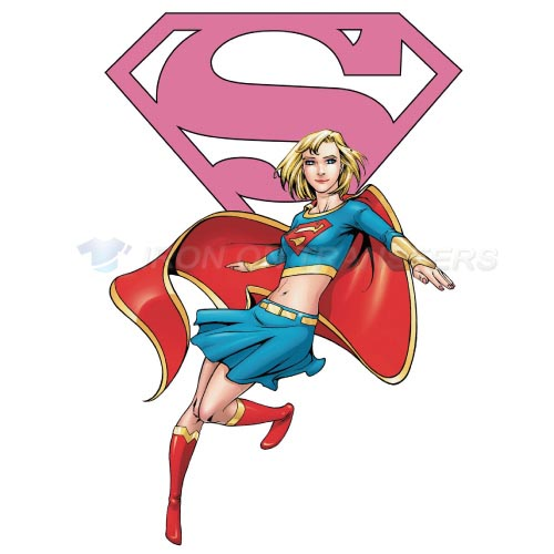 Supergirl Iron-on Stickers (Heat Transfers)NO.268
