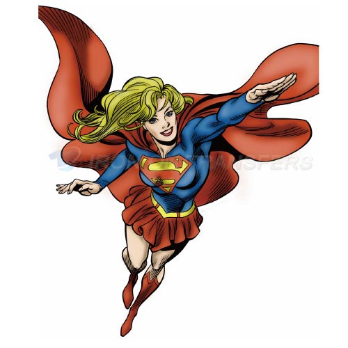 Supergirl Iron-on Stickers (Heat Transfers)NO.270