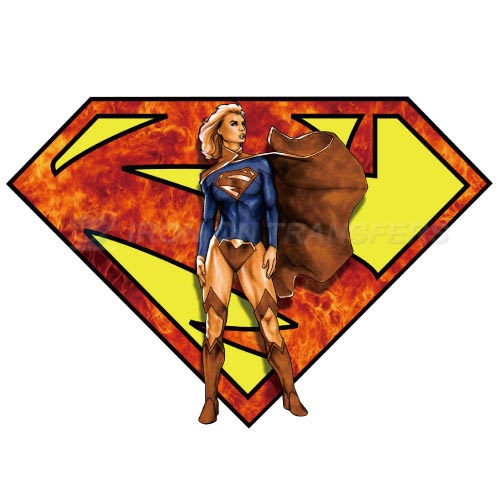 Supergirl Iron-on Stickers (Heat Transfers)NO.271