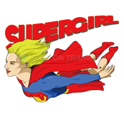 Supergirl Iron-on Stickers (Heat Transfers)NO.274